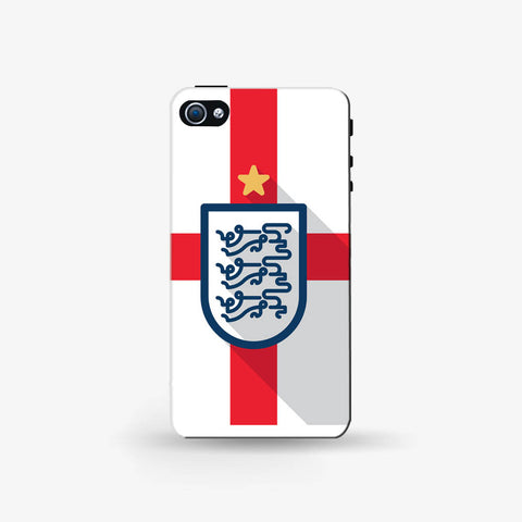 England Minimal   Iphone 4/4s Case - Edmotic