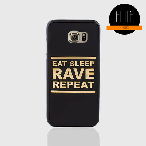 EAT SLEEP MATTE FINISH PHONE CASE FOR SAMSUNG S6 EDGE - Edmotic