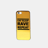 Eat Sleep Gold Phone Case (I Phone 5 )