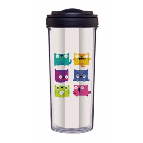 Kitty Emotico Tumbler - Edmotic