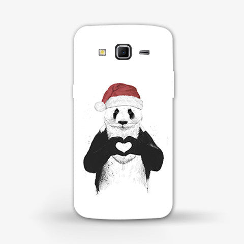 Santa Panda Samsung Galaxy Grand 2 Case - Edmotic