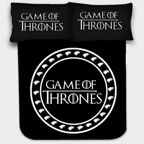 GAME OF THRONES BEDSHEET - Edmotic - 1