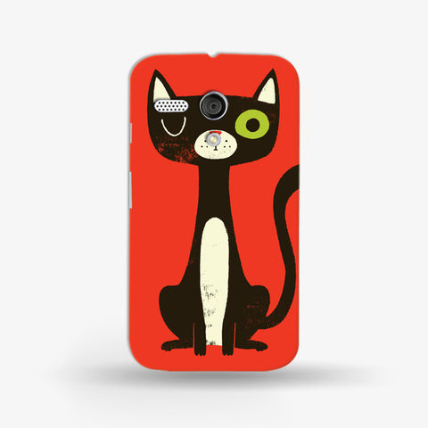 Green Eye Cat (MOTO G) - Edmotic