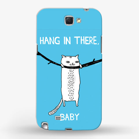 Hangin There Baby  Samsung Galaxy Note 2 CASE - Edmotic