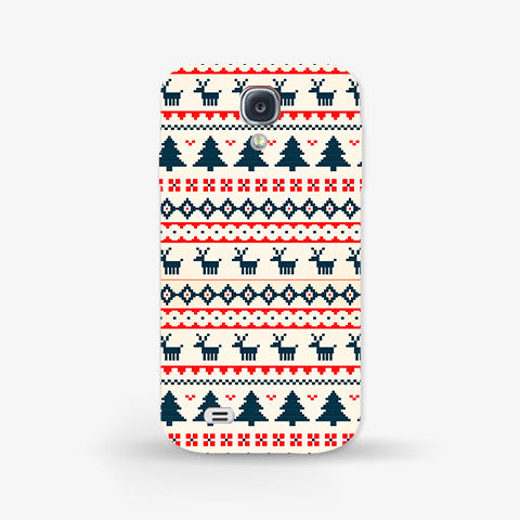 Christmas Snow Aztec Samsung Galazy S4 CASE - Edmotic