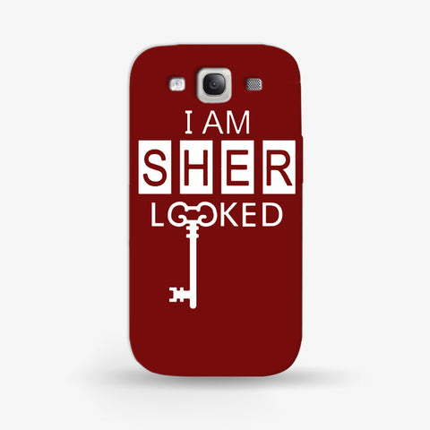 I Am Sherlocked  Samsung Galaxy S3 CASE - Edmotic