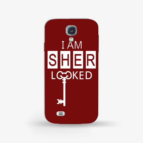 I Am Sherlocked  SAMSUNG S4 MINI CASE - Edmotic
