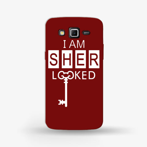 I Am Sherlocked Samsung Galaxy Grand 2 Case - Edmotic