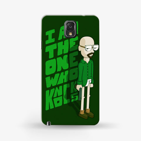 I Am The One Who Knocks   Samsung Galaxy Note 3 CASE - Edmotic