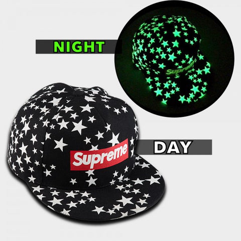 SUPREME GLOW IN DARK SNAPBACK - Edmotic