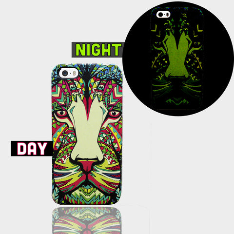 AZTEC LION GLOW IN DARK CASE  Iphone 5/5s Case - Edmotic
