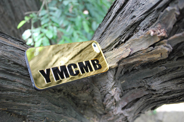 YMCMB Gold Phone Case (I Phone 5 )