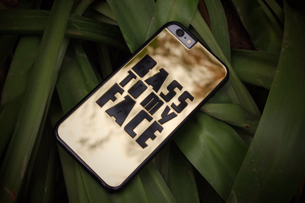Bass to my Face Gold Phone Case (iPhone 6/6S)