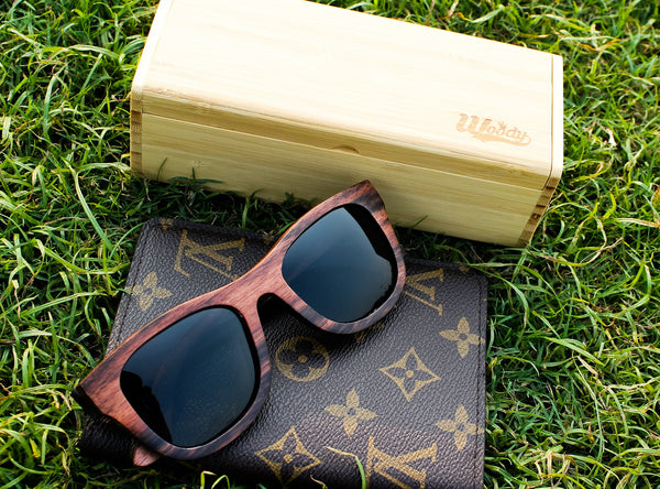 Walnut Wayfarer Wood Sunglasses