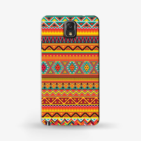 Indian Aztec Samsung Galaxy Note 3 CASE - Edmotic