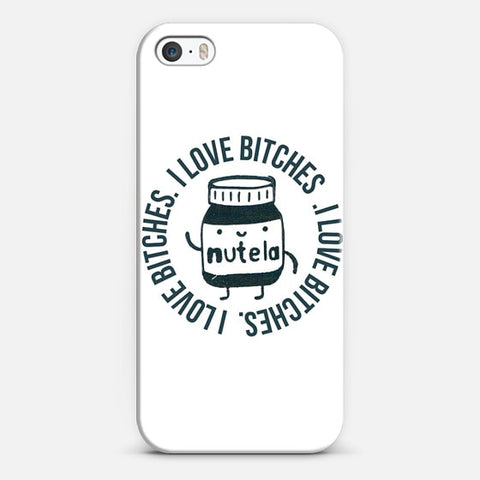 Inappropriate Nutella iPhone SE Case - Edmotic