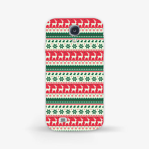 Christmas Aztec Samsung Galaxy S4 Mini CASE - Edmotic