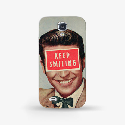 Keep Smiling  Samsung Galaxy S4 Mini CASE - Edmotic