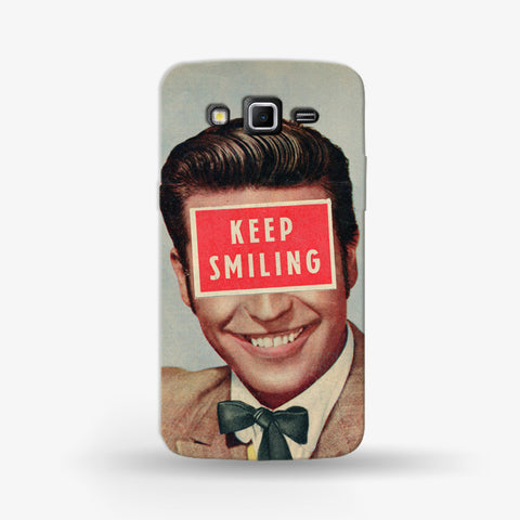 Keep Smiling Samsung Galaxy Grand 2 CASE - Edmotic