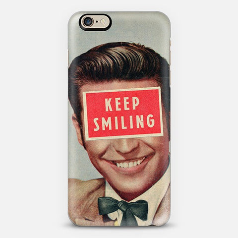 Keep Smiling Iphone 6 Case - Edmotic