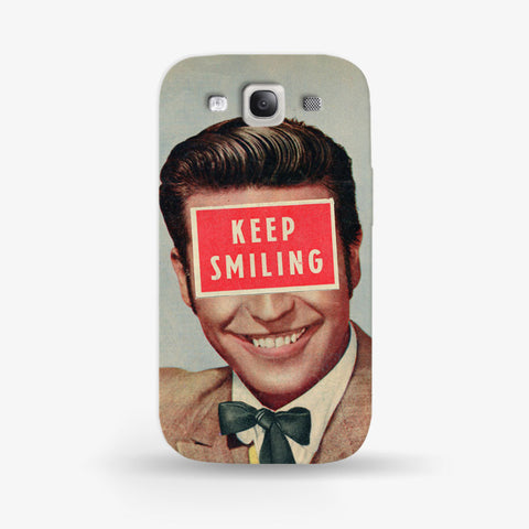 Keep Smiling  Samsung Galaxy S3 CASE - Edmotic