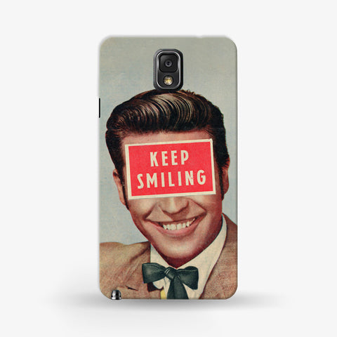 Keep Smiling  Samsung Galaxy Note 3 CASE - Edmotic