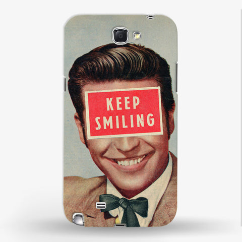 Keep Smiling  Samsung Galaxy Note 2 CASE - Edmotic