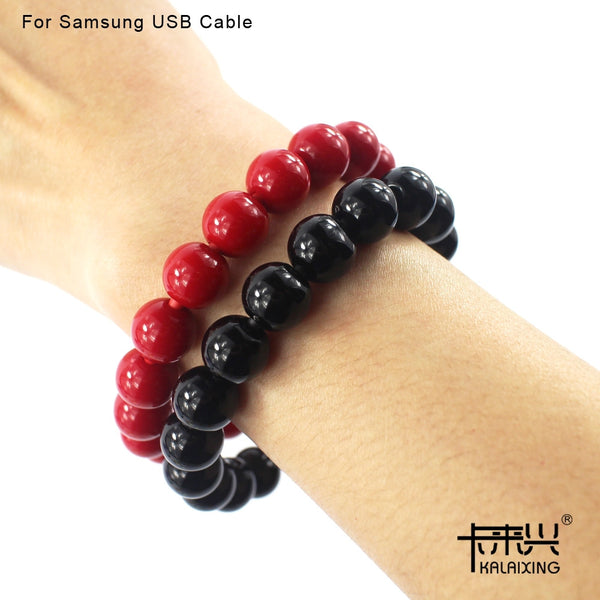 BEADS CHARGING WRISTBAND FOR APPLE