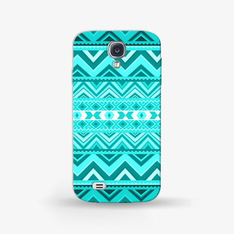 Mint Aztec Samsung Galaxy S4 Mini CASE - Edmotic