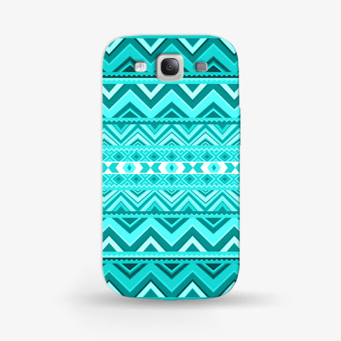 Mint Aztec Samsung Galaxy S3 CASE - Edmotic