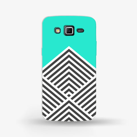 Minty Chevron Samsung Galaxy Grand 2 CASE - Edmotic