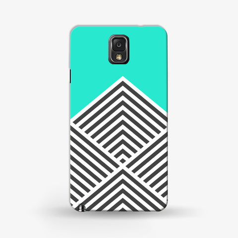Minty Chevron   Samsung Galaxy Note 3 CASE - Edmotic