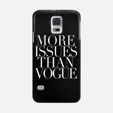 More Issue Than Vogue Samsung Galaxy S5 CASE - Edmotic