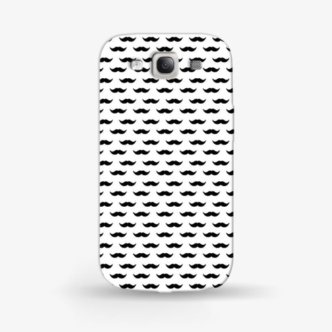 Moustache  Samsung Galaxy S3 CASE - Edmotic