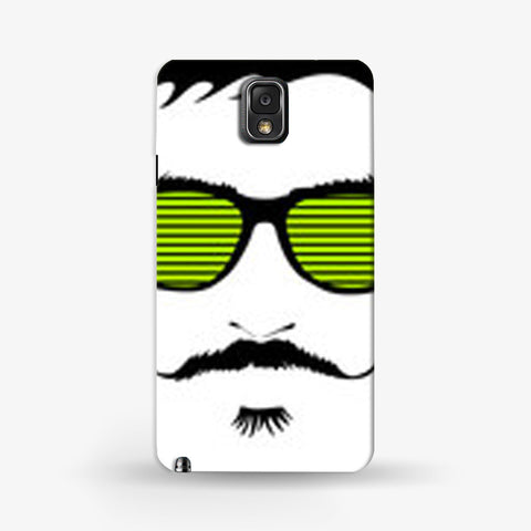 Mustache Life  Samsung Galaxy Note 3 CASE - Edmotic