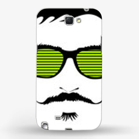 Mustache Life  Samsung Galaxy Note 2 CASE - Edmotic
