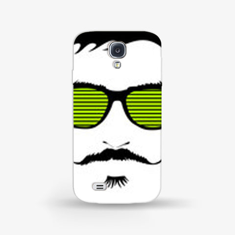 Mustache Life  Samsung Galaxy S4 Mini CASE - Edmotic