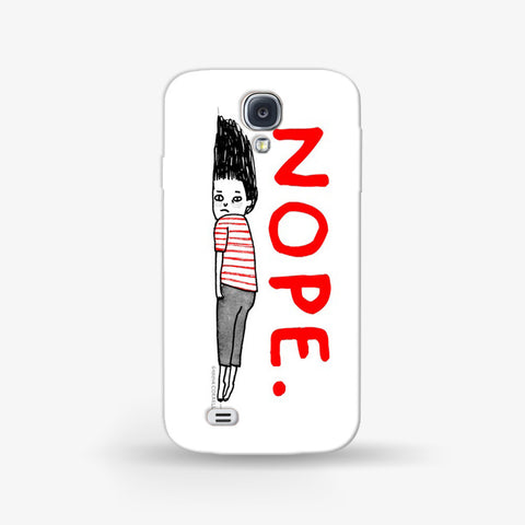Nope Feeling  Samsung Galaxy S4 Mini CASE - Edmotic