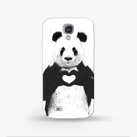 Panda Love  Samsung Galaxy S4 Mini CASE - Edmotic