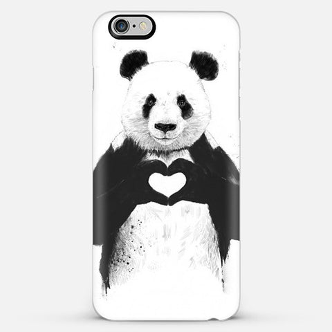 Panda Love Iphone 6s Plus case - Edmotic