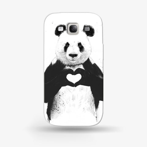 Panda Love  Samsung Galaxy S3 CASE - Edmotic