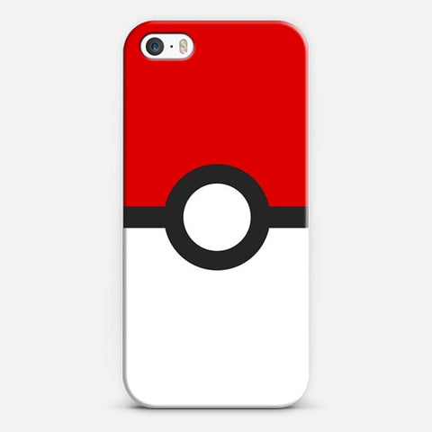 Poke Ball iPhone 5/5s Case - Edmotic
