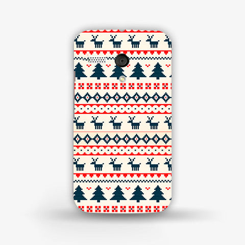 Christmas Snow Aztec (MOTO G) - Edmotic