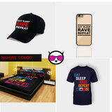 EAT SLEEP RAVE REPEAT COMBO PACK (RAVERS COMBO)