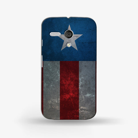 Retro Captain America   (MOTO G) - Edmotic