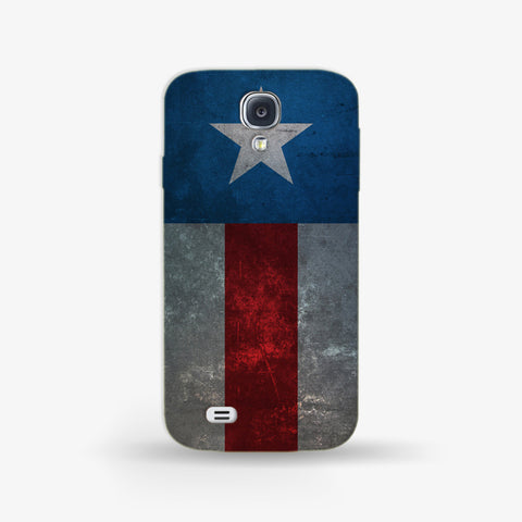 Retro Captain America  Samsung Galaxy S4 Mini CASE - Edmotic