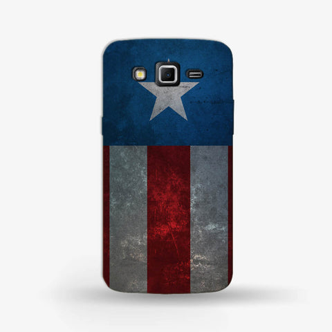 Retro Captain America Samsung Galaxy Grand 2 CASE - Edmotic