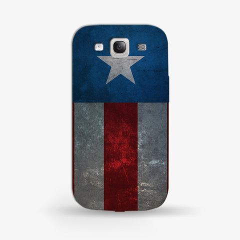 Retro Captain America  Samsung Galaxy S3 CASE - Edmotic
