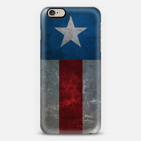 Retro Captain America  Iphone 6 Case - Edmotic