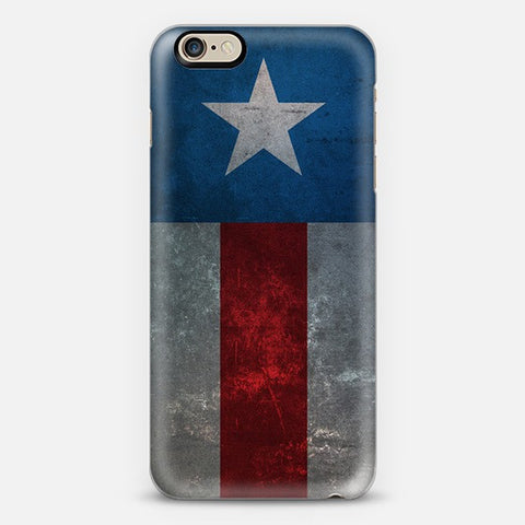 Retro Captain America iPhone 7 Case - Edmotic